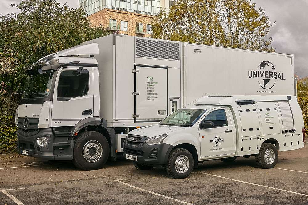 Universal Generator Carrier Vehicles