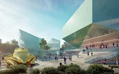 Winner of Competition for Development of Architectural Concept for the European Film Center CAMERIMAGE announced